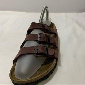 Birkenstock Betula Leather Soft Footbed Sandals 41